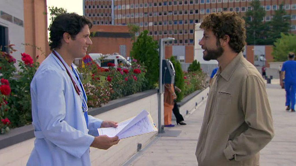 """Javier, a Álex: """"Cuídala mucho"""""""