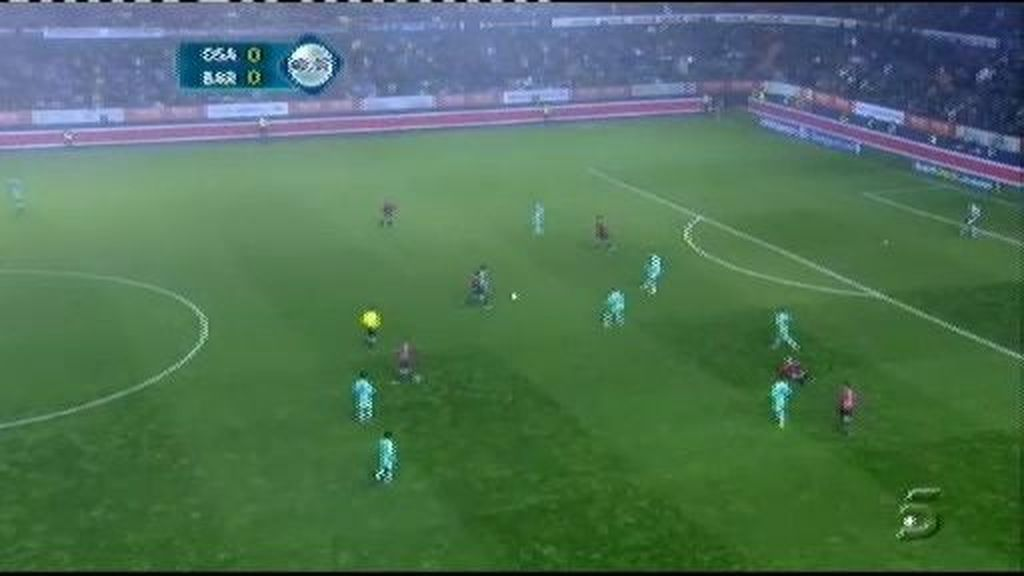 Osasuna 1 - 0 Barcelona: Lekic