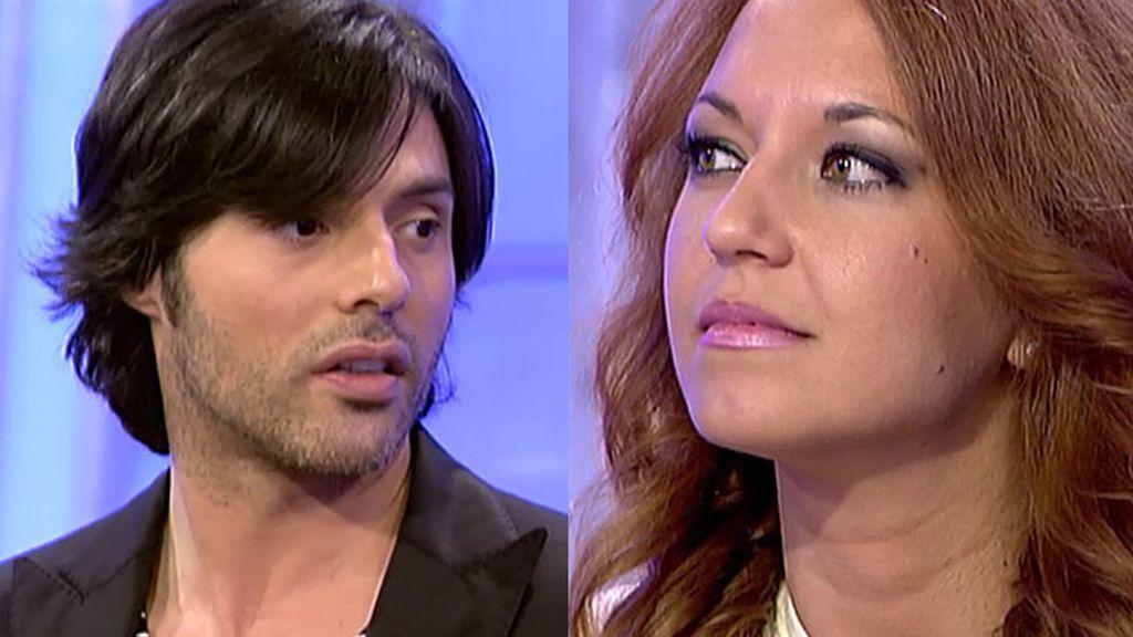 Óscar cree que Gina le mira mal
