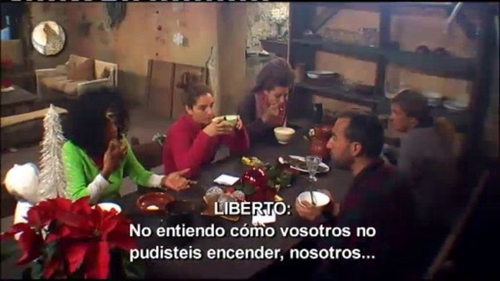 """Liberto: """"Raquel es una cínica"""""""