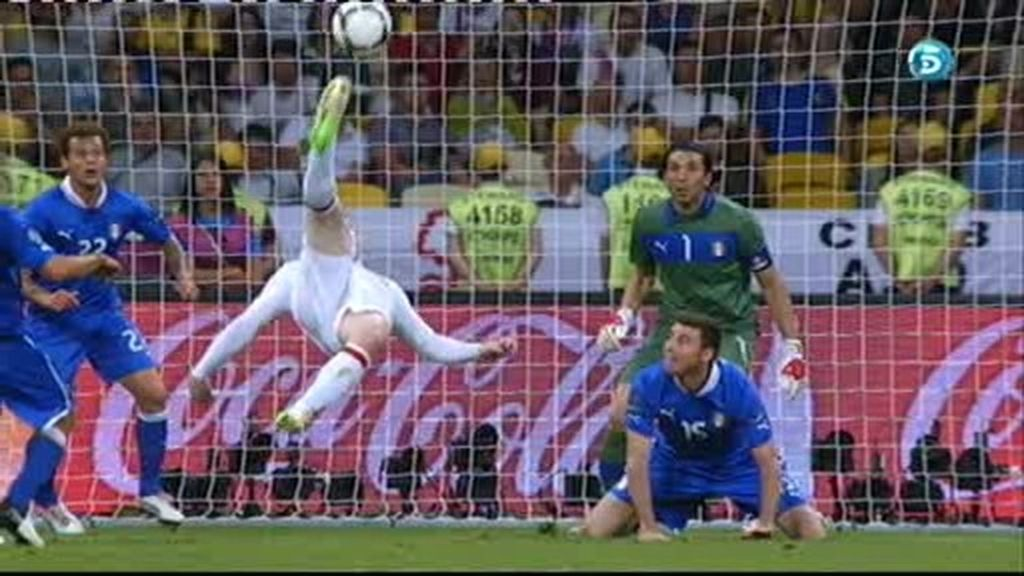 Chilena in extremis de Rooney