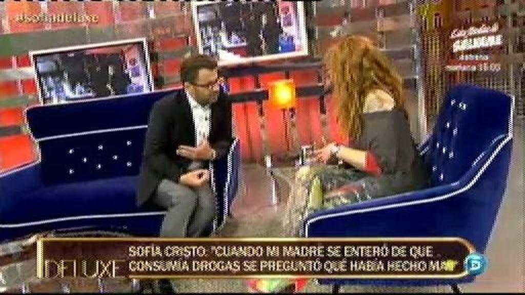 """Sofía Cristo: """"Le robaba cocaína a mi padre. Luego empezó a dármela """""""
