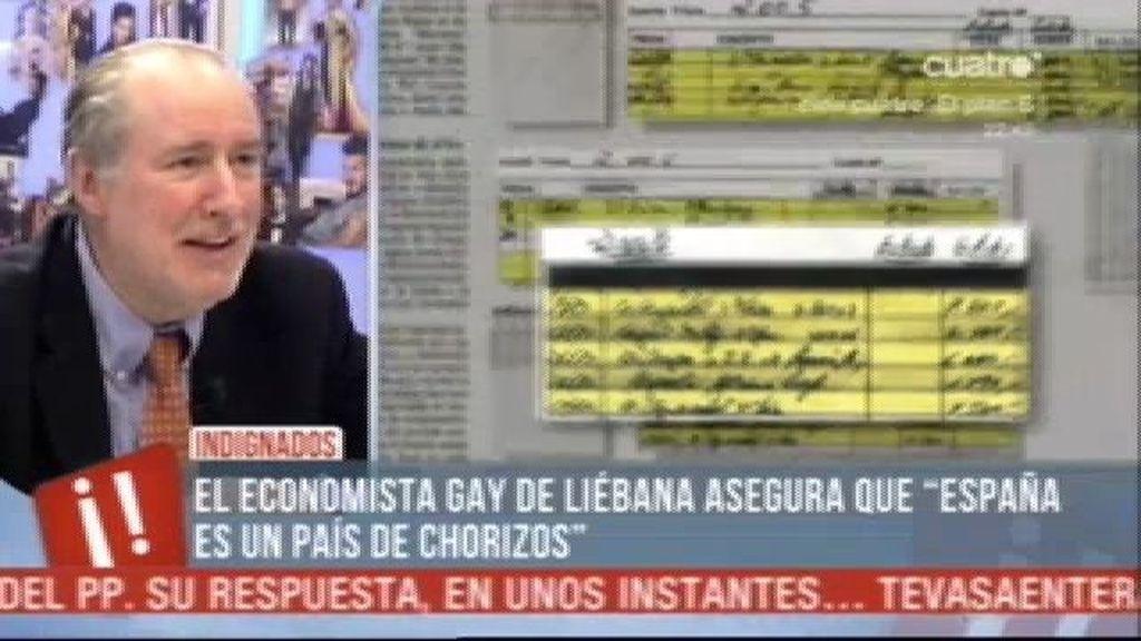 """Gay de Liébana: """"Sobran políticos y falta pueblo"""""""