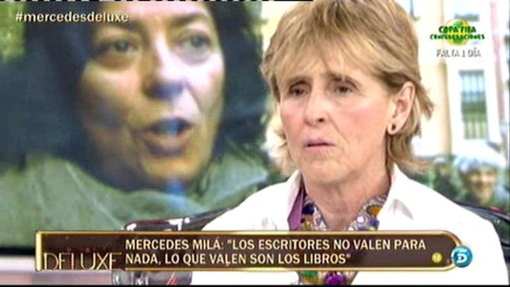 """M. Milá, a Almudena Grandes: """"No critiques a los de la TV por ir a la feria del libro"""""""