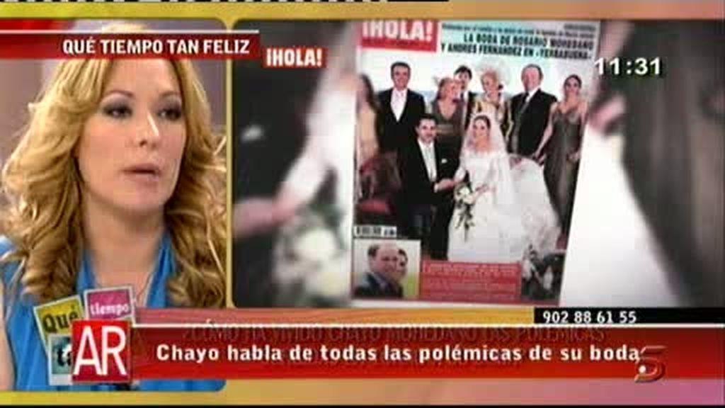 Chayo Mohedano, sobre su boda