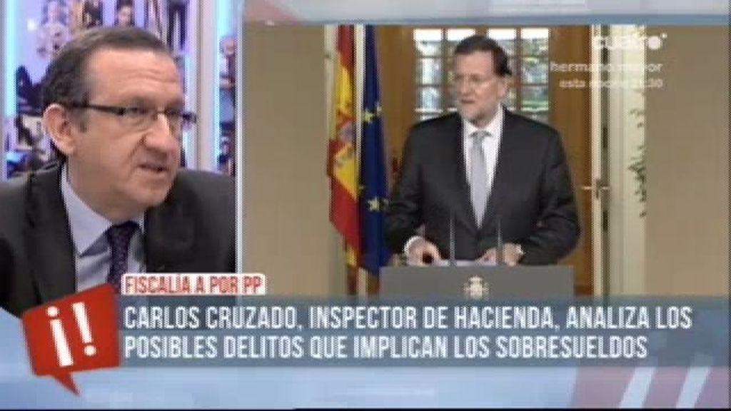 """Carlos Cruzado: """"Los últimos delitos fiscales del PP prescibrieron ayer"""""""