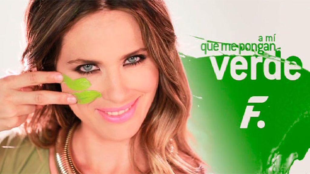 Vanesa Romero, la 'femme fatale' del verde