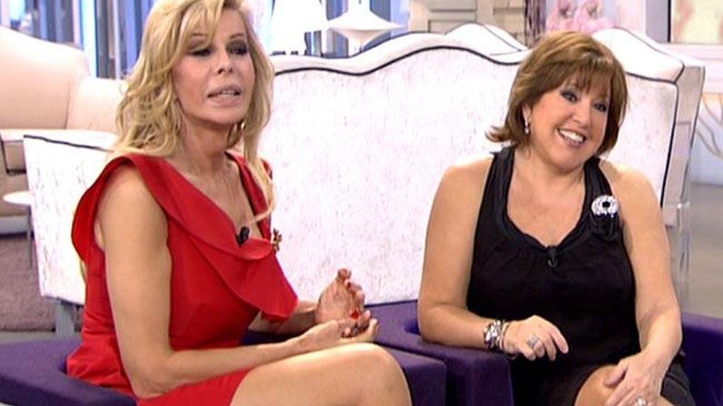 Bibiana Fernández y Loles León
