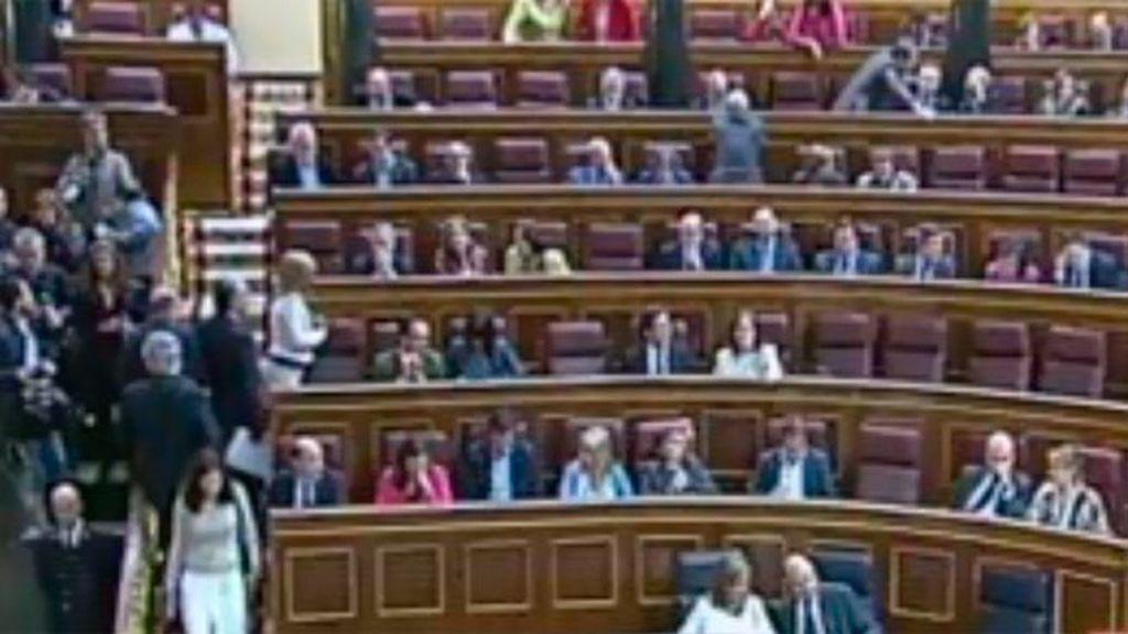 El congreso desestima la demanda contra 64 diputados  por cobrar dietas
