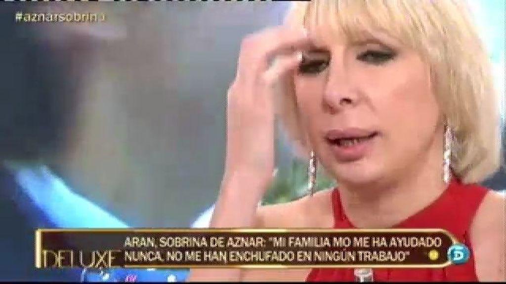 "Aran Aznar: ""Mi prima ganó con la boda con Alejandro Agag"""