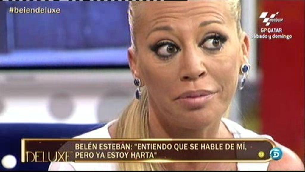 """Belén Esteban: """"Entiendo que se hablé de mí pero ya estoy harta"""""""