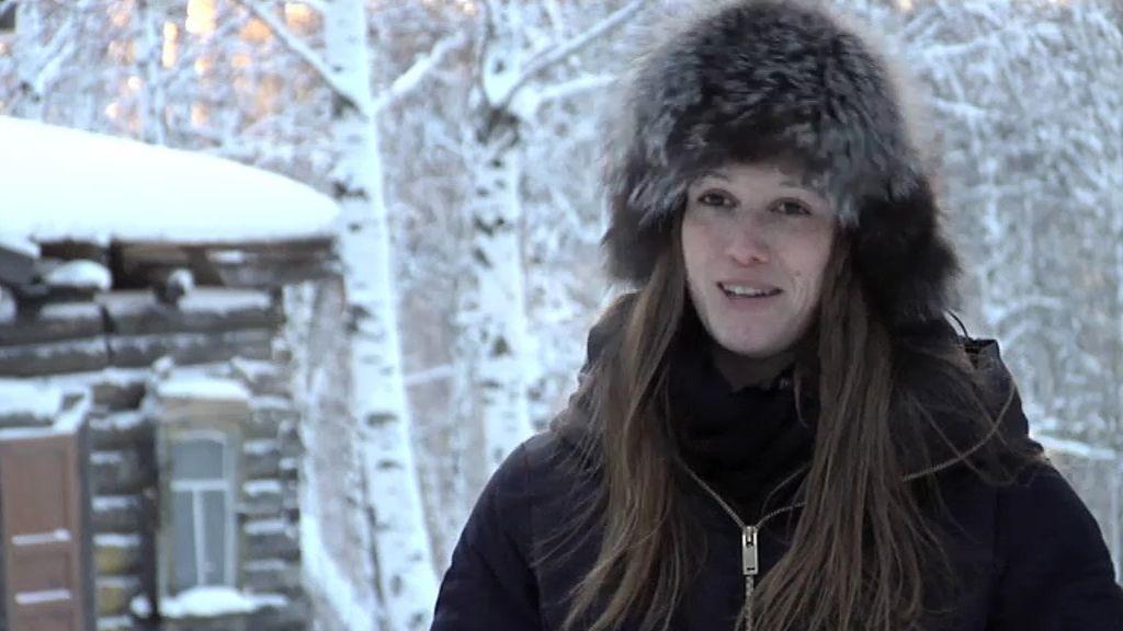 Sandra realiza una tesis de lenguas minoritarias rusas en Siberia
