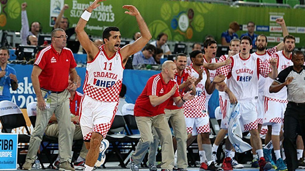 El último minuto del Croacia-Italia
