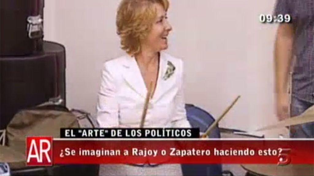 ¿Políticos o artistas?