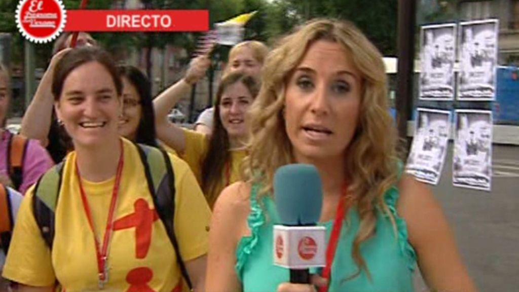 El Papa llega a Madrid