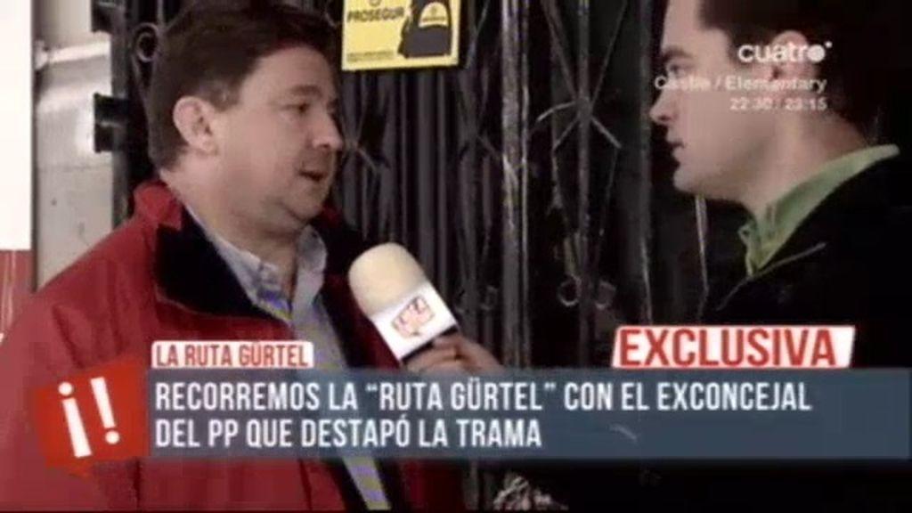 """José L. Peñas: """"Grabé una conversación tan delictiva que la borré hasta de mi cabeza"""""""