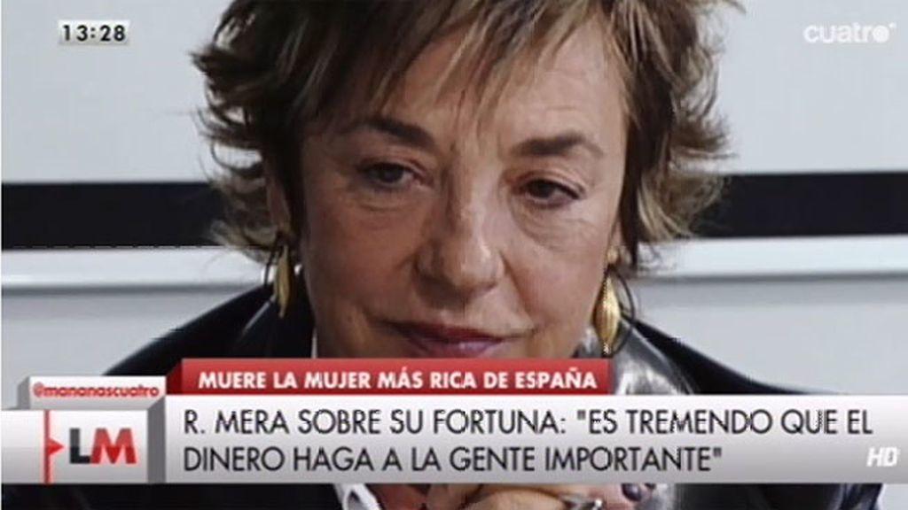 Fallece Rosalía Mera, cofundadora del imperio 'Inditex'