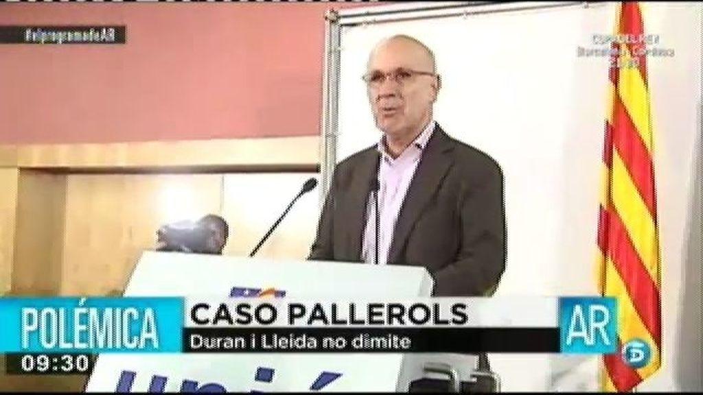 Los partidos políticos piden la dismisión de Durán i Lleida