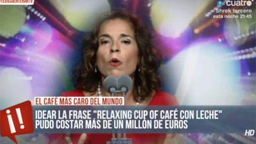 'Relaxing cup of café con leche', ya tiene precio y música