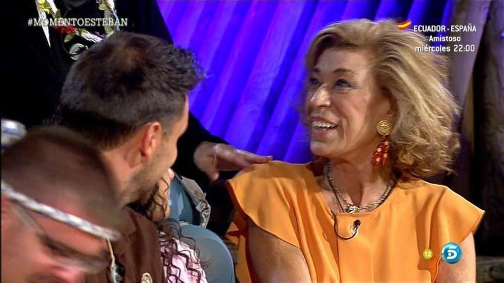 Toya Casinello, nueva 'VIP' del campamento