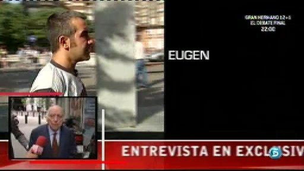Eugenio Ruiz busca a su hermano gemelo