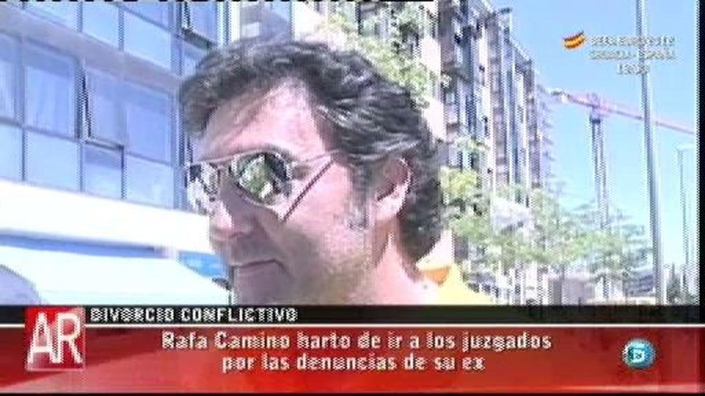 "Rafa Camino: ""Natalia se ha negado a pagar su parte"""