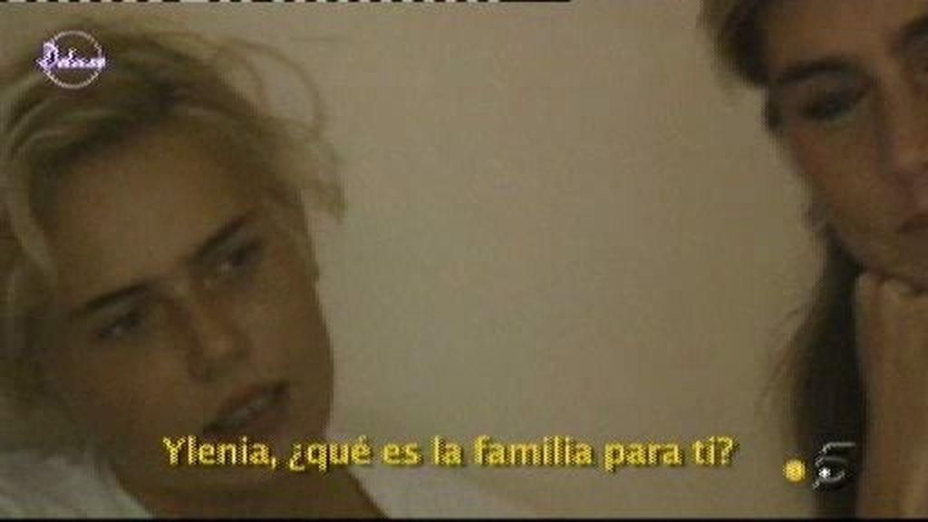 """Ylenia: """"La famila no es un vínculo necesariamente bueno"""""""