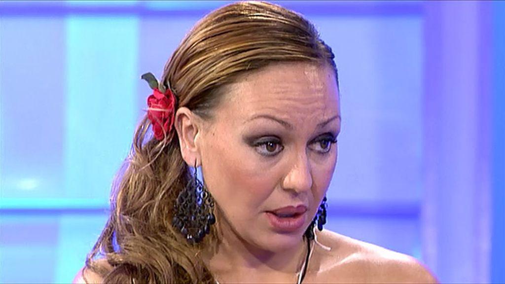 Olga está muy enfadada con Rubén
