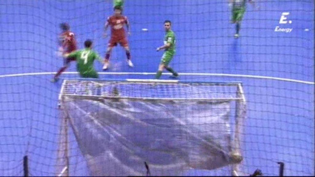 Gol de Raúl Campos (Navarra 3-4 ElPozo)
