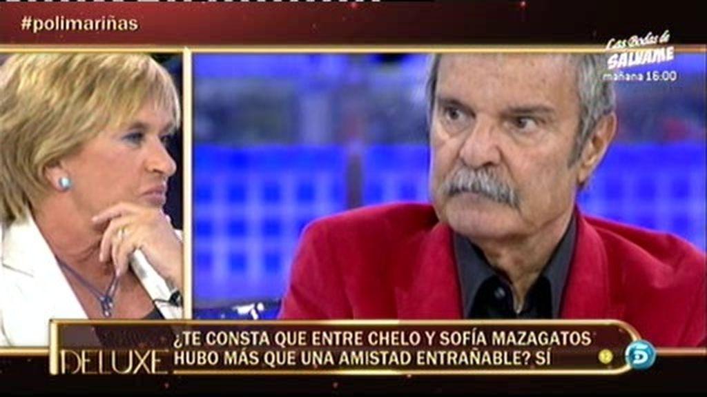 """Mariñas: """"Lo que sentía Chelo por Sofía Mazagatos era adoración"""""""