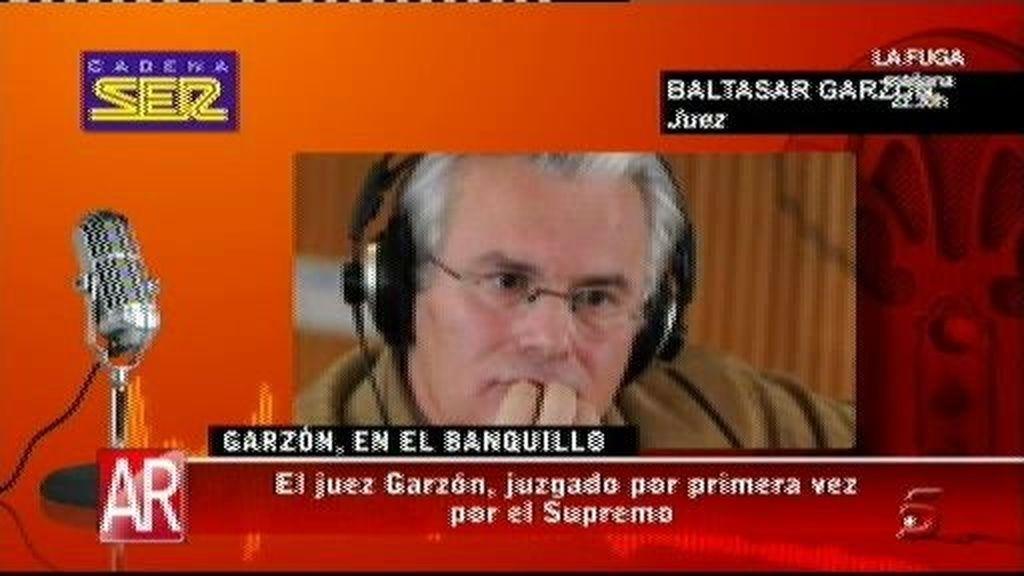 El juez Garzón espera seguir vinculado a la justicia