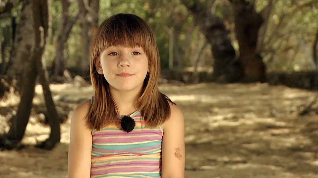 """La pequeña Zoe: """"Yo creo que soy mágica"""""""