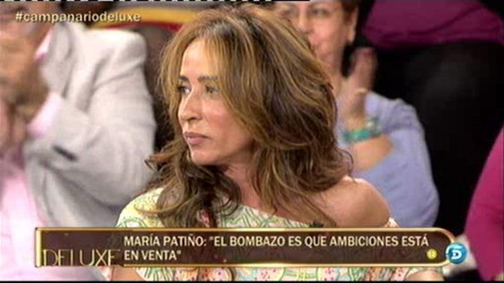 María Patiño asegura que Jesulín de Ubrique va a vender Ambiciones