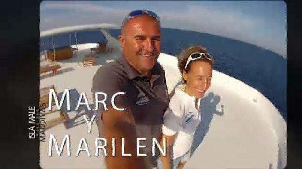 """Marc y Marilen: """"Maldivas nos hechizó"""""""