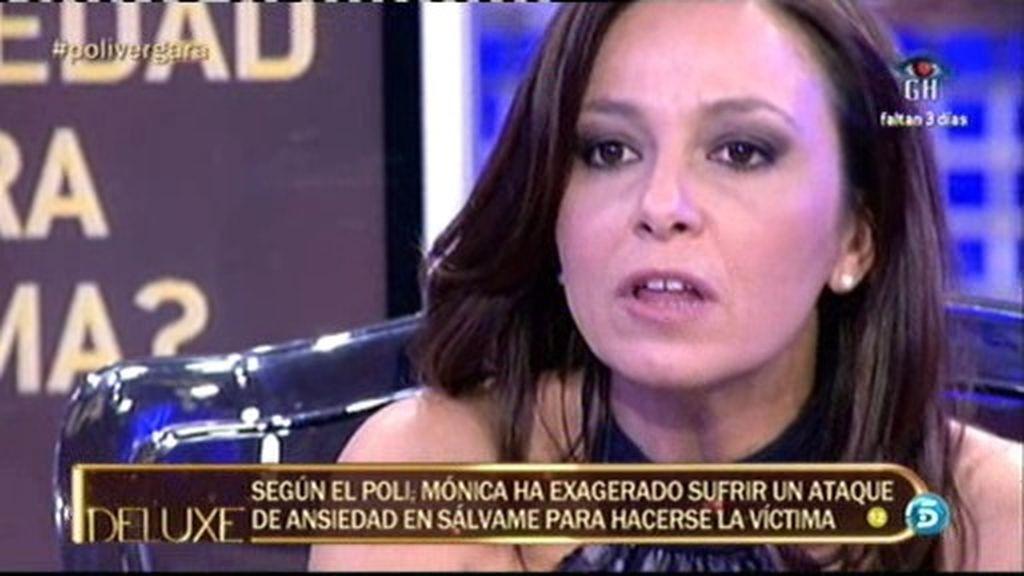 Mónica V. exageró su crisis de ansiedad