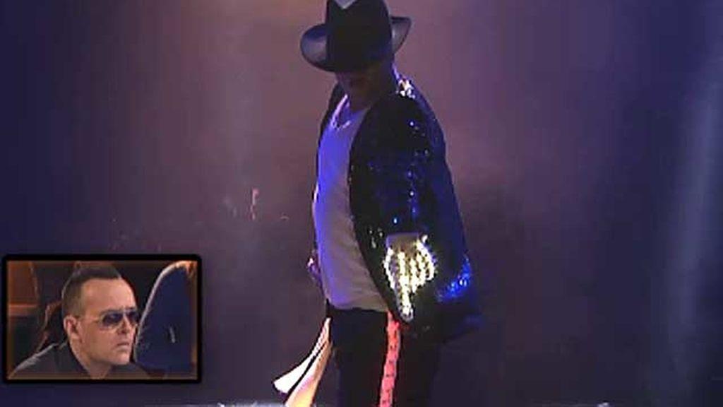 José Jackson, 34 años, imitador de Michael Jackson