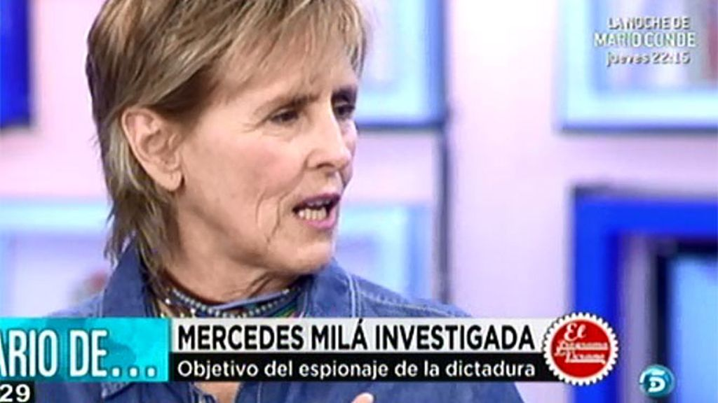 Mercedes Milá, investigada por la dictadura