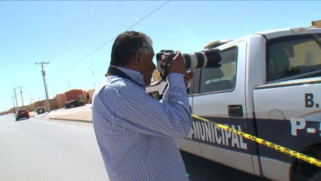 """Lucio, fotógrafo en Ciudad Juárez: """"Desde 2008, llevo fotografiados unos 3.000 muertos"""""""