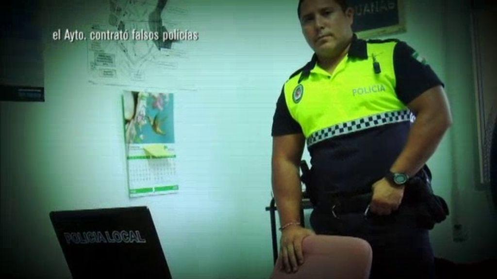 Falsos policías locales en Guaro