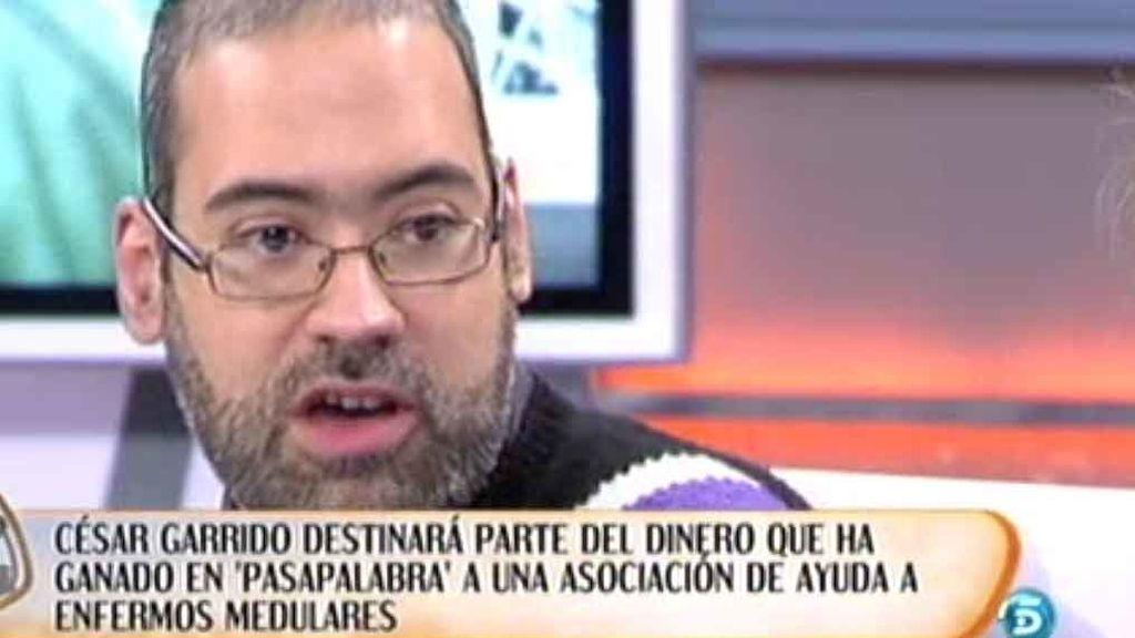 Carlos Garrido, el campeón millonario de 'Pasapalabra'