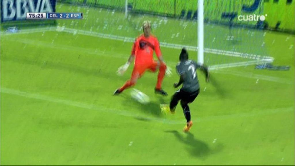 Gol de Thievy (Celta 2 – 2 Espanyol)