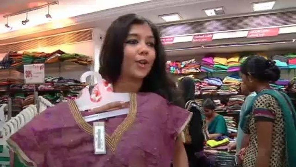 En Chennai, los vestidos de las mujeres son recatados