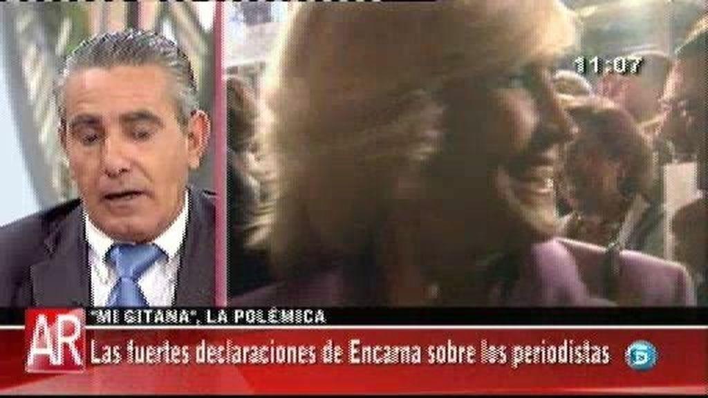 """El sobrino de Encarna Sánchez: """"Encarna e Isabel no eran pareja pero estaba enamorada de ella"""""""