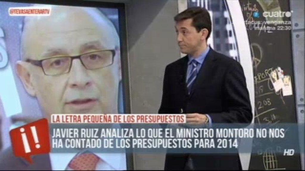 Javier Ruiz analiza los presupuestos de 2014