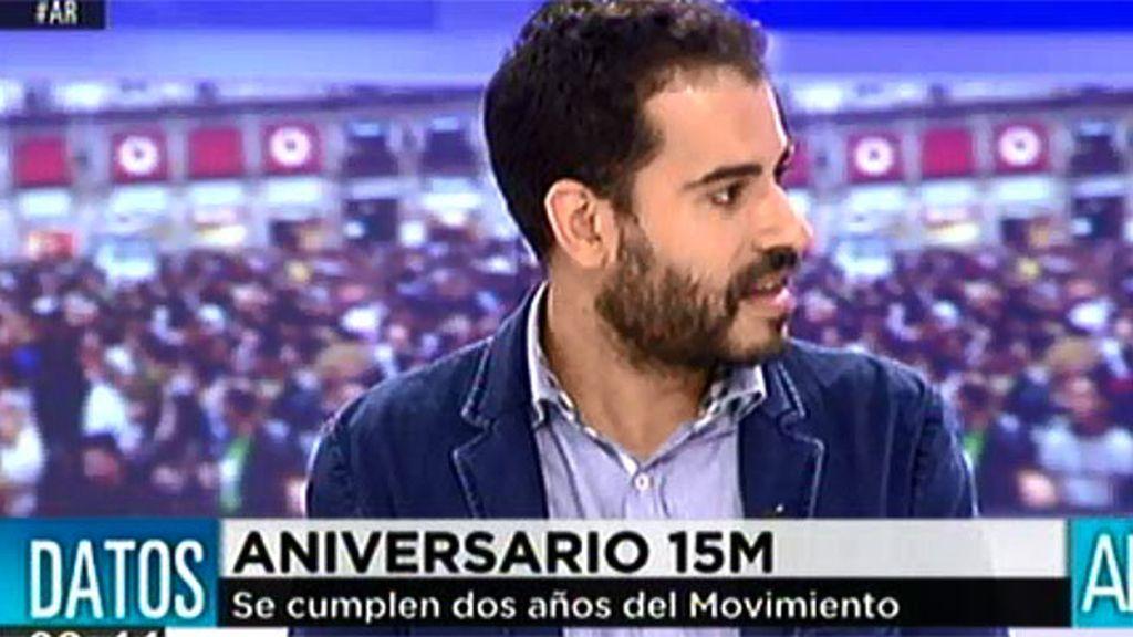 """Fabio Gandara: """"El espíritu del 15M ha generado nuevas iniciativas"""""""
