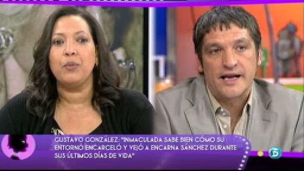 """Inmaculada Liriano, ex asistente de Encarna Sánchez: """"Se llevaron muchas cosas de la casa"""""""