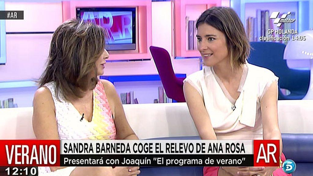 Ana Rosa le da el relevo a Sandra Barneda