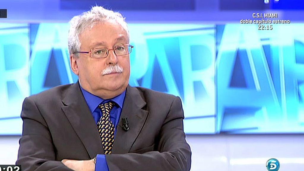 Joaquín Leguina, víctima de las preferentes