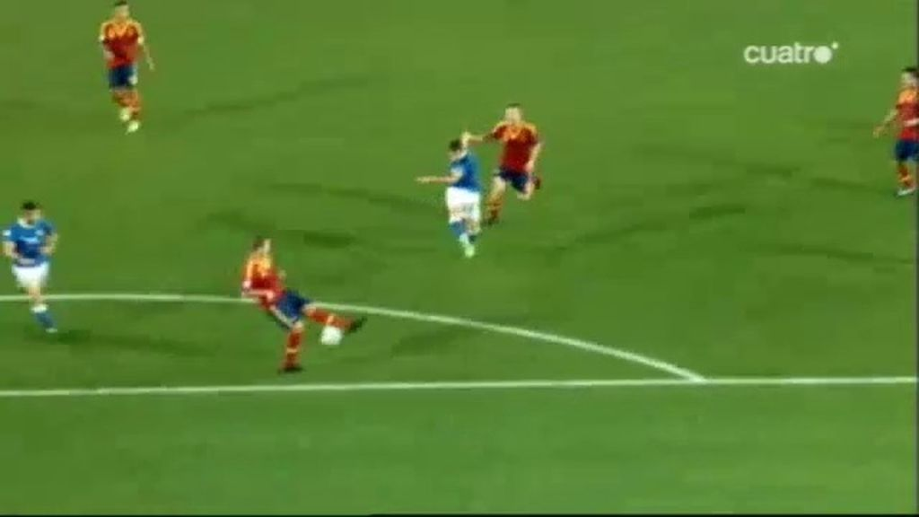 Gol: Italia 2-4 España (Min.80)
