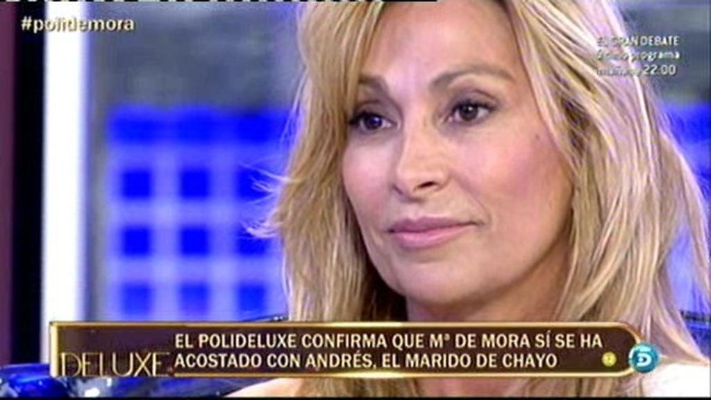 El marido de Chayo Mohedano no ha mantenido una relación con María de Mora